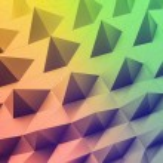 Abstract rainbow background. Vector illustration. — Stock Vector