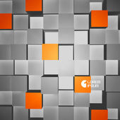 3D vector illustration. Abstract background. — Stock Vector