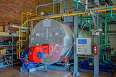 Steam boiler — Stock Photo