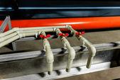 Moisture drain valve — Stock Photo