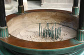 Aromatic Sticks in the Incense Burner — Stock Photo