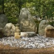 Stone Idols, Kinkakuji Temple, Kyoto — Stock Photo