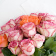 Bunch of Pink Roses — Stock Photo #40290867