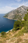 Adriatic Littoral in Croatia — Stock Photo
