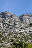 Grey Mountains in Croatia — Stock Photo
