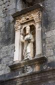 Statue of St. Blasius in Dubrovnik — Stockfoto
