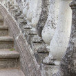 Row of Stone Balusters — Stock Photo
