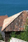 平铺的屋顶 — 图库照片