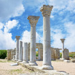 Ruins of an Ancient Greek temple — Stockfoto