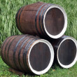 Wine barrels — Foto Stock
