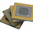 Stock Photo: Modern CPU