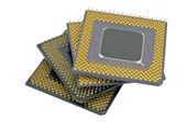 Modern CPU — Stock Photo