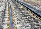 View of the railway track — Stock Photo