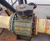 Rusted valve — Stockfoto