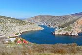 Crimea, Balaklava bay — Stock Photo
