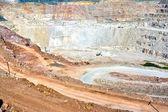 露天掘り鉱山 — ストック写真