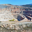 Open pit mine — Stock Photo #24921443