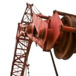 Top beam of crane mobile — Stock Photo #24921973