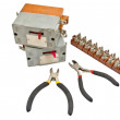 Automatic circuit breaker - Stock Photo