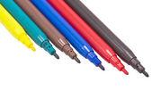 Marcadores de color — Foto de Stock