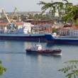 Bay with ships — Stock Photo #32273373