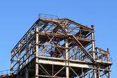 Ruinen einer alten fabrik — Stockfoto
