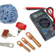Electricians tools — Stock Photo