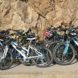 Many bicycles — Stock Photo