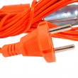 Europeelectrical power cord — Stock Photo #34220635