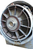 Jet engine close-up — Stockfoto