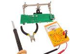 Checking Circuit by Multi-Meter — Stock Photo