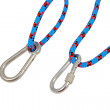 Stock Photo: Carabiner and rope