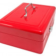 Red box — Stock Photo