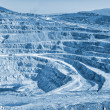 Open pit mine — Stock Photo