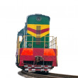 High speed diesel train — Stock Photo