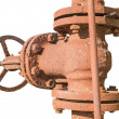 Rusted valve — Stock Photo
