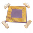 Stock Photo: Cpu processors