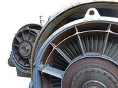 Jet motoru yakın çekim — Stok fotoğraf
