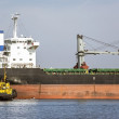 Shipping transportation freighter — Stockfoto #37699357
