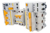 Automatic circuit breaker — Stock Photo