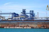 Port warehouse  — Stock Photo