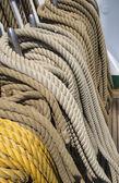 Manovre su una nave — Foto Stock