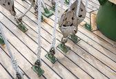 Cuerda en bloques — Foto de Stock