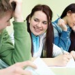 Student on exam — Stock Photo #13303890