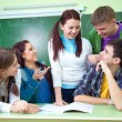 Students in classroom — Stock Photo #13303898