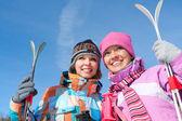 Kış spor — Stok fotoğraf