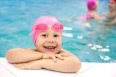 Nadador de bebé — Foto de Stock