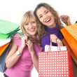 Girlfriends on shopping — Stock Photo #13805954