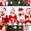 Royalty-Free Stock Photo: Christmas  collage