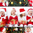 Christmas collage — Stock Photo #13806061